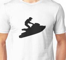 Jet ski racing Unisex T-Shirt