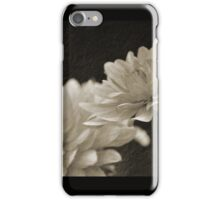 Vintage White Blossoms iPhone Case/Skin