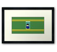 ATARI KEYSTONE KAPERS (1)  Framed Print