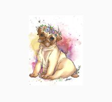 Pug is love - Galaxy Watercolours Unisex T-Shirt