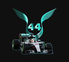 Lewis Hamilton F1 with LH 2016 44 car Unisex T-Shirt