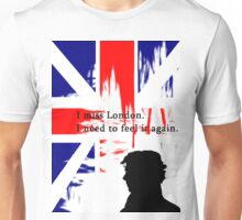 I MISSED LONDON Unisex T-Shirt