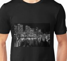 Looking Into a Black and White Sydney T-Shirt