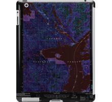 USGS TOPO Map Alaska AK Ketchikan D-6 356752 2000 63360 Inverted iPad Case/Skin