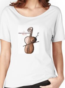 Music; The Food of Love Women's Relaxed Fit T-Shirt