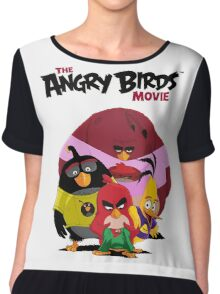 The Angry Birds Movie Chiffon Top