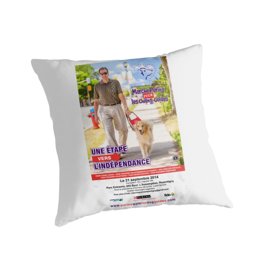 Marche Purina pour chiens guides by Nathalie Chaput
