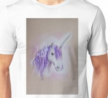 Lilac Dreaming Unicorn Unisex T-Shirt