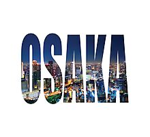 Osaka Photographic Print