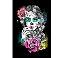 Aaliyah, Day of the Dead Photographic Print