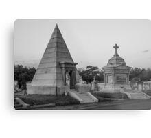 Pyramid Tomb Metal Print