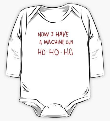 DIE HARD - NOW I HAVE A MACHINE GUN One Piece - Long Sleeve