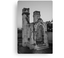 Castle Tomb Canvas Print