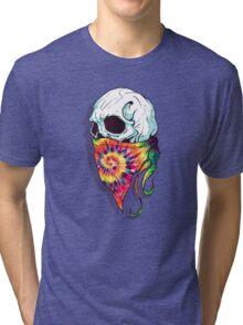 Skull Hipster Tri-blend T-Shirt
