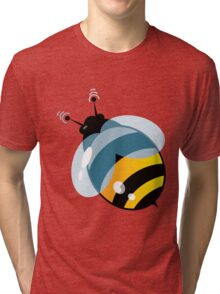 Cute ButterFly with signals Tri-blend T-Shirt