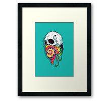 Skull Hipster Framed Print