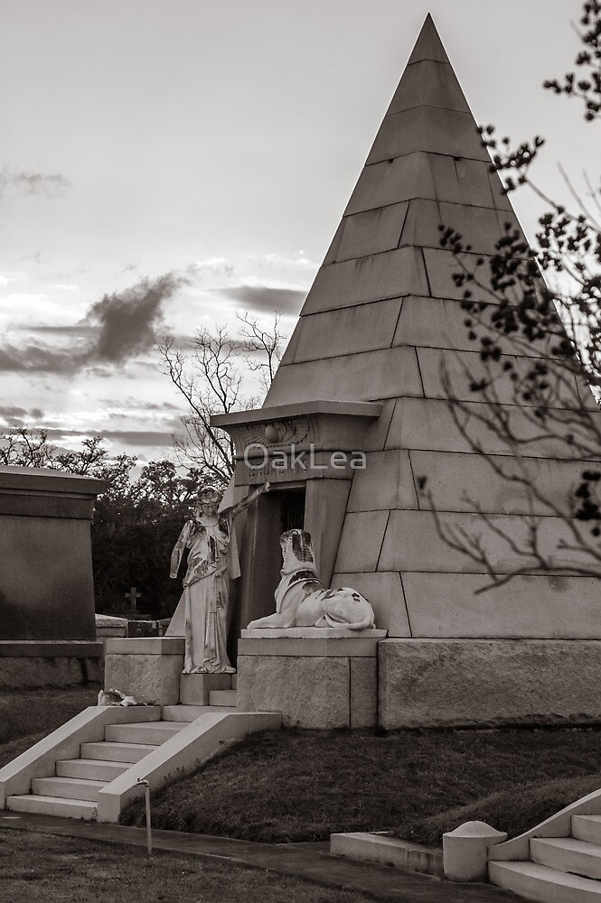 Pyramid Tomb At Sunset By Oaklea Redbubble