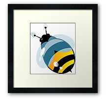 Cute ButterFly with signals Framed Print