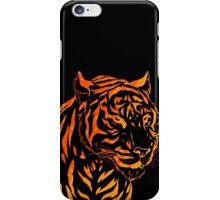 Flame Tiger iPhone Case/Skin