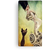 Temptation-A Tasty Morsel Canvas Print