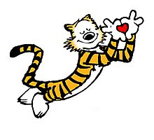 Hobbes With Love Photographic Print