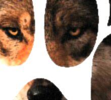 Wolf Paw Sticker