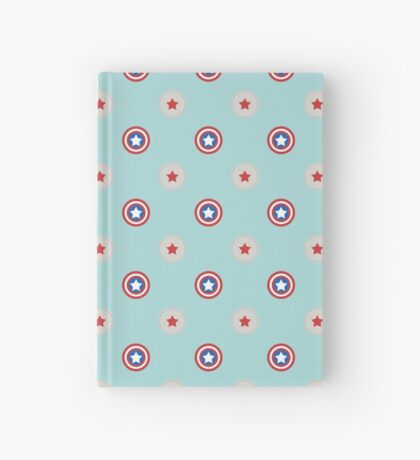 stars and stripes Hardcover Journal