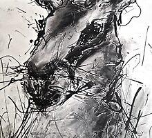 Hare Drip painting by GeorgieGipps41
