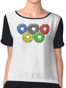 Olympic Donuts - Unofficial Non Competitors Uniform 2016 Chiffon Top