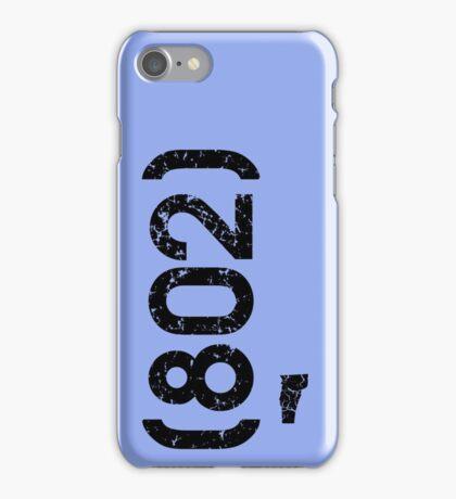 Area Code 802 Vermont iPhone Case/Skin