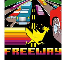 ATARI FREEWAY CARTRIDGE LABEL Photographic Print
