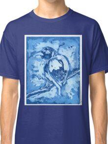 Bird on a Wire (Blue) Classic T-Shirt