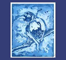 Bird on a Wire (Blue) Unisex T-Shirt
