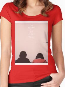 SUBMARINE Women's Fitted Scoop T-Shirt