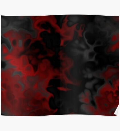 black red and gray Poster