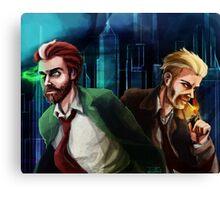 Corrigan-Constantine team up Canvas Print