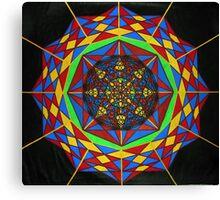 Quantum Super Construct Canvas Print