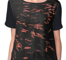 Sparks on Black no. 2 Chiffon Top