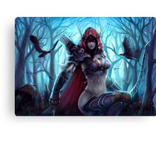 Sylvanas Coursevent Canvas Print