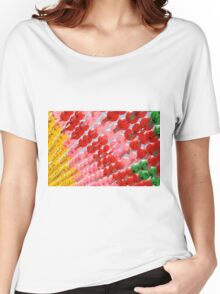 Multi-colored Lanterns at Buddha's Birthday Women's Relaxed Fit T-Shirt