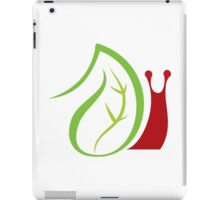 Nature and worm insects iPad Case/Skin