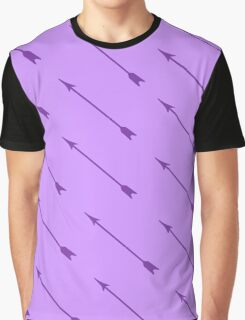 Purple Arrows Graphic T-Shirt