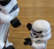 Dave Stormtrooper  Fathers Day Hug Sticker