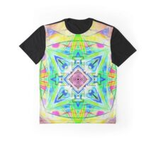 Mandala Digital Nu Dop light Graphic T-Shirt