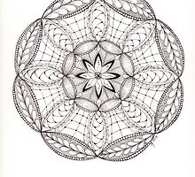 Tangled Mandala by Christianne Gerstner