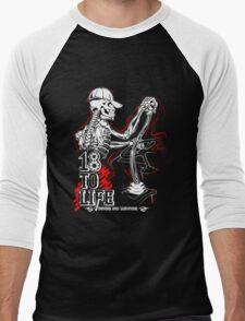 Truck - 18 To Life Men's Baseball ¾ T-Shirt