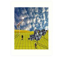 Surreal Explorations Art Print