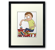 Rick To The Morty Framed Print
