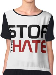 Stop the Hate Chiffon Top