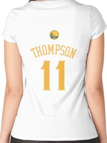 Klay Thompson Women's Fitted Scoop T-Shirt